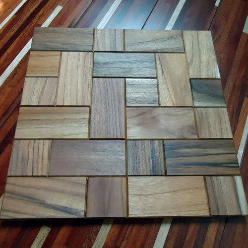 Handmade Mosaic Teak Wood Tile At Best Price In Ho Chi Minh