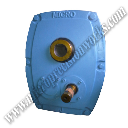 Heliworm Geared Motor With Solid Shafts
