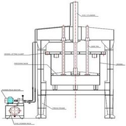 Hydraulic Discharge Press