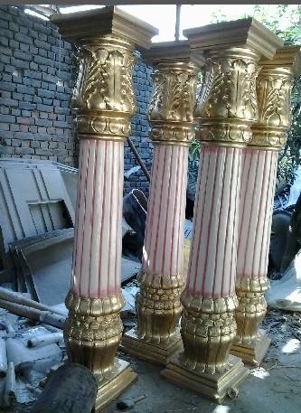 Fiberglass Pillars Fabrication Services