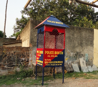 Traffic Police Booth Fabrication Services