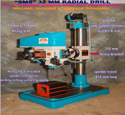 All Radial Drill Machine