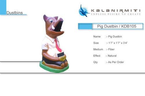 Pig Dustbin