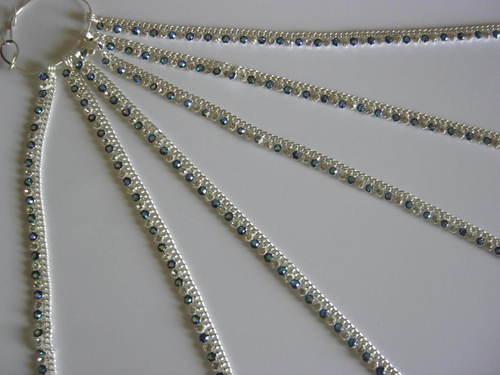 Silver Designer Payal