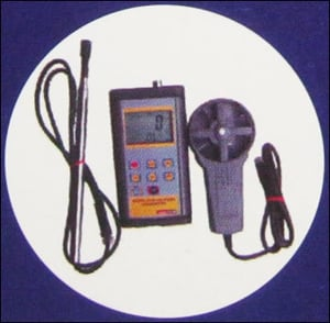 Hot Wire And Vane Thermo Anemometers