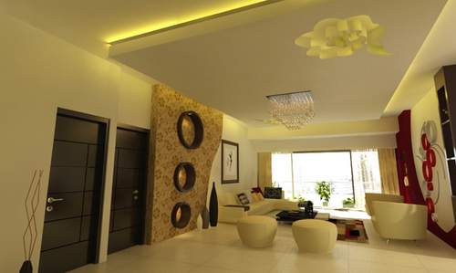 Drawing Room Decoration Services - CASCADE INDIA DESIGN SOLUTIONS ...