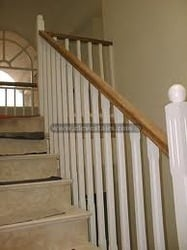Wooden Baluster With Handrails