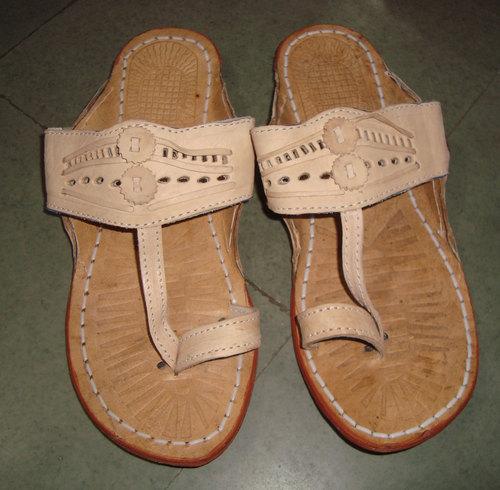 Men's Leather Slipper