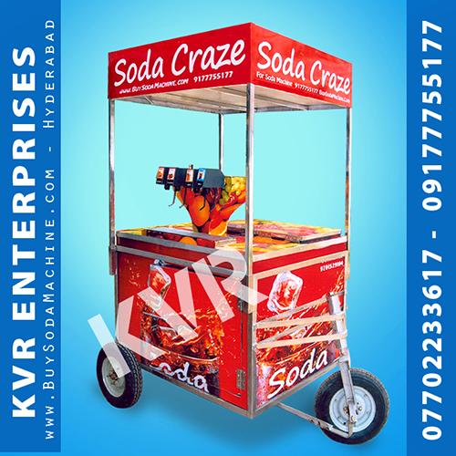 Soda Cart 4+1