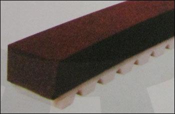 Belt With Black Rubber Coating