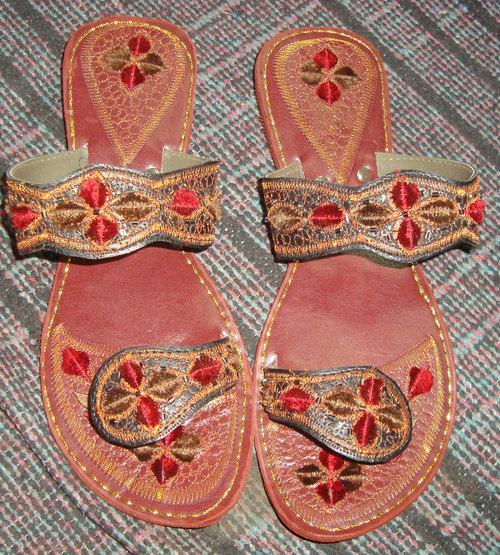 Embroidered Sandal