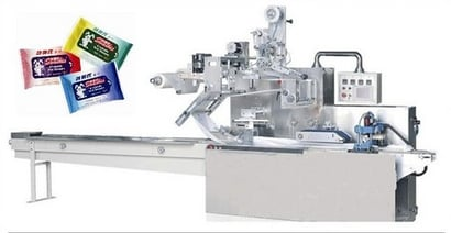 Automatic Wet Wipes Baby Wipes Packaging Machine