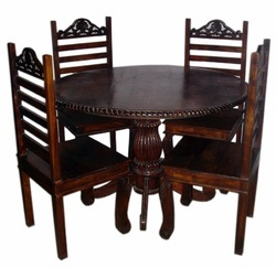 Four Chair Dining Table Set. Country: India