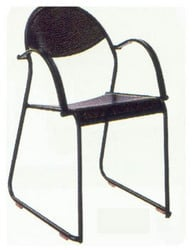 Perforated Metal Chairs