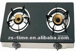 Tempered Glass Faceplate Gas Hob