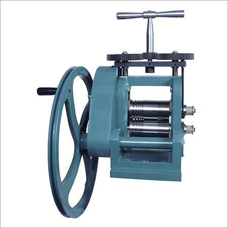 Jewellers Rolling Mill Hand Operated