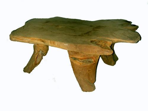 Teak Root Table