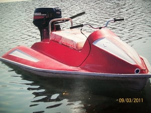 Two Seater Water Scooter