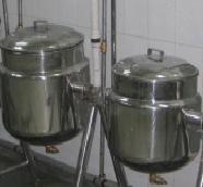 Dal Vessel And Milk Vessel