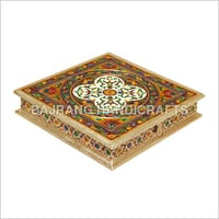 Carved Handcrafted Rangoli Box