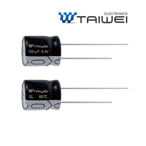 220uF 16V//50V Electrolytic Capacitor Radial 0.22uF