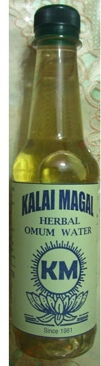 Kalai Magal Herbal Omum Water