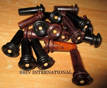Violin New Hill End Buttons