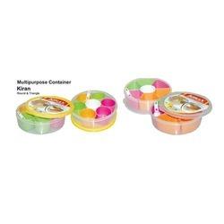 Multi Purpose Household Plastic Containers