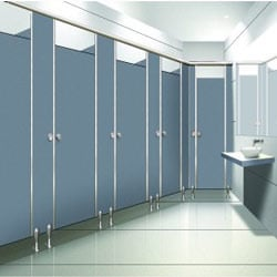 Compact Board Cubicles And Urinal Partitions