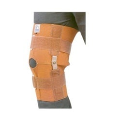 Elastic Knee Brace with Joints