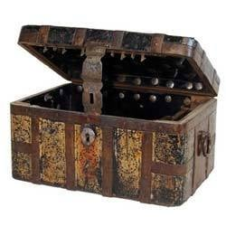 Wooden Box And Trunk
