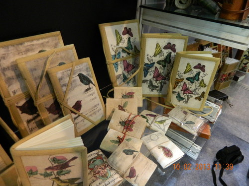 Hand Made Paper Notebooks