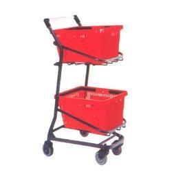 Shopping Trolley With Basket in  Rabindra Sarani