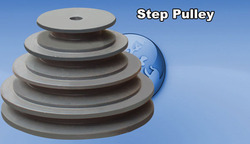 Heavy Duty Step Pulley