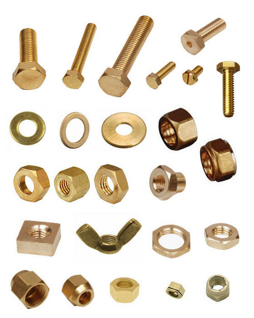 Brass Nuts, Bolts And Washers
