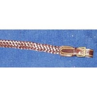 Leather Hand Braided Sling