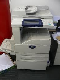 Photo Copier And Printer (XEROX WC 123)