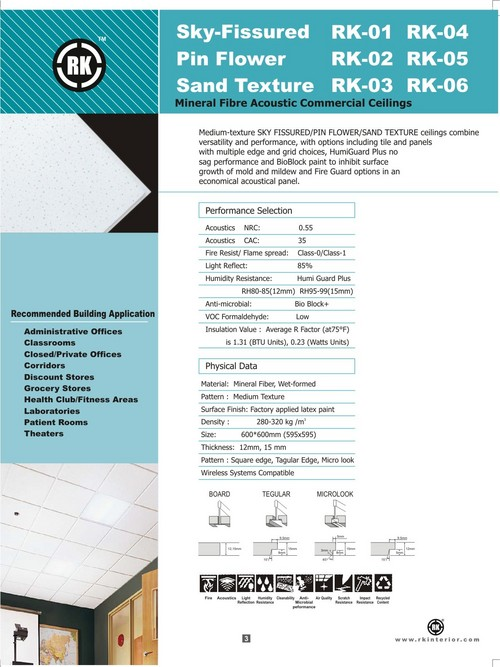 Mineral Fiber Ceiling Tiles In Delhi Delhi Dealers Traders