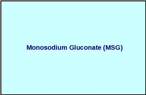 Monosodium Gluconate (Msg)