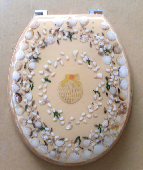 Fancy Polyresin Toilet Seat Cover In Huli Area