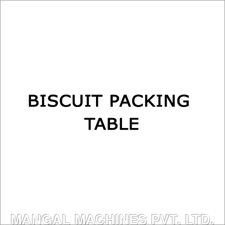 Biscuit Packing Table in  Old Factory Area