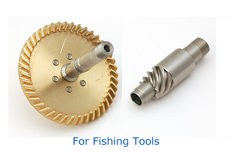 Spiral Bevel Gear (Fishing Tools)