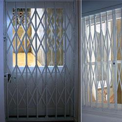Retractable Security Gates