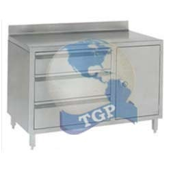 Ss Table With 3 Drawers And 1 Big Locker