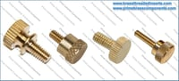 Brass Knurling Tumb Screws