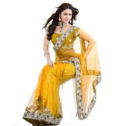 b3b58db016519e Ladies Yellow Blouse Saree - Cbazaar, Old No. 3, New No. 5, Club ...