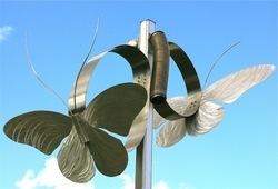Stainless Steel Designer Sculpture