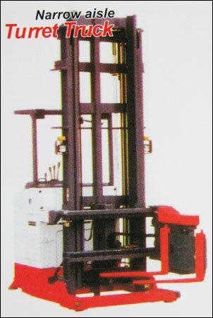 Narrow Aisle Turret Fork Lift Truck