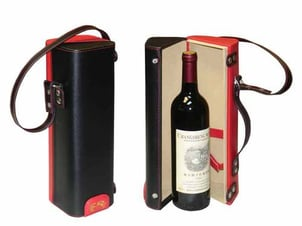 Leather Beverage Boxes