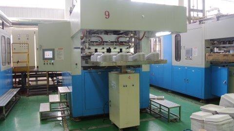 Automatic Pulp Molding Machine In Taipei, Taipei Shih / Taipei Hsien,  Taiwan - Hsing Chung Molded Pulp Co., Ltd.